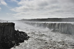 Dettifoss waterfall, Iceland. Royalty Free Stock Image