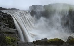 Dettifoss waterfall, Iceland Royalty Free Stock Images