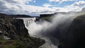 Dettifoss Waterfall Iceland stock photos