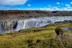 Dettifoss waterfall in Iceland Stock Photos