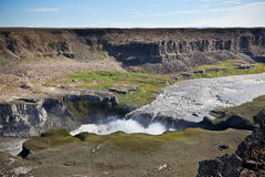 Dettifoss Waterfall in Iceland Royalty Free Stock Photo