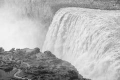 Dettifoss waterfall in Jokulsargljufur National Park, Iceland. Royalty Free Stock Image
