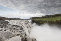 Dettifoss waterfall Stock Photo