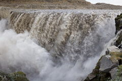 Dettifoss waterfall Royalty Free Stock Photos