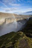 Dettifoss waterfall Royalty Free Stock Photo