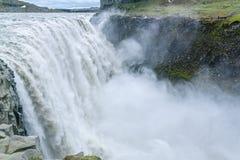 Dettifoss waterfall, Northeast Iceland Stock Photos