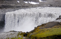 Dettifoss waterfall Royalty Free Stock Photography
