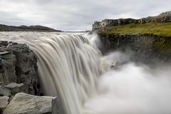 Dettifoss waterfall Royalty Free Stock Images