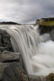 Dettifoss waterfall Royalty Free Stock Photo