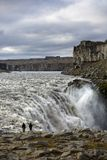 Dettifoss waterfall Stock Images