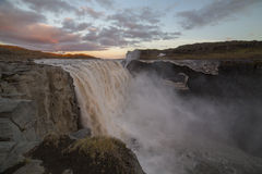 Dettifoss waterfall Stock Photos