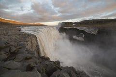 Dettifoss waterfall royalty free stock image