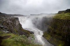 dettifossiceland vattenfall Arkivbilder