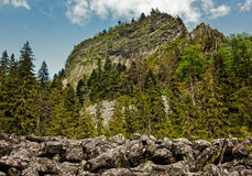 Detunatele massif, Romania Royalty Free Stock Photo