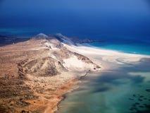 Detwah Lagoon. Near Qalansiyah, Socotra Island Royalty Free Stock Photo