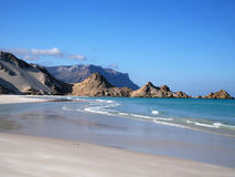 Detwah Lagoon, Socotra Island, Yemen. Detwah Lagoon near Qalansiyah, Socotra Island, Yemen Royalty Free Stock Photography