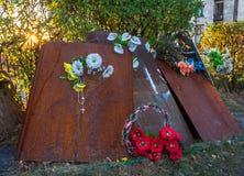 Deuil pour les morts dans la confrontation Photos libres de droits