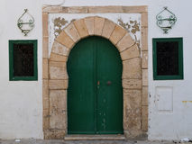 Deur in Arabische stijl royalty-vrije stock foto