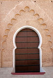 Deur in de moskee Royalty-vrije Stock Foto's