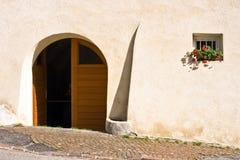 Deur en venster Stock Afbeeldingen