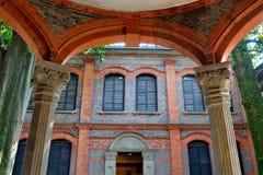 Deur en venster Royalty-vrije Stock Afbeeldingen