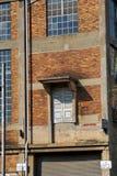 Deur in het midden van een muur in Newtown, Johannesburg Royalty-vrije Stock Afbeelding