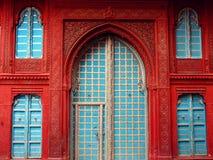 Deur in India, Rajasthan Stock Foto