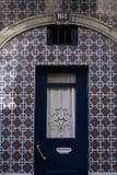 Deur in Lissabon Royalty-vrije Stock Foto