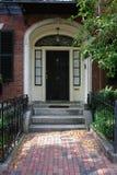 Deur Nummer Zevenendertig Boston Royalty-vrije Stock Afbeeldingen