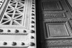 Deur in Parijs Royalty-vrije Stock Fotografie
