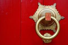 deur slag Royalty-vrije Stock Afbeeldingen
