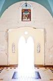 Deur van kerk Royalty-vrije Stock Foto's