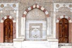 Deuren 10 van de moskee Stock Foto