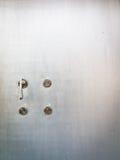 Deuren en deurknop Stock Afbeeldingen