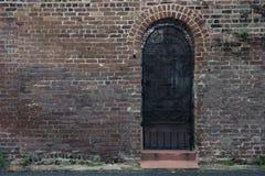 Deuren en ingangen toneel, unieke, oude, versierde architectuur Stock Afbeeldingen