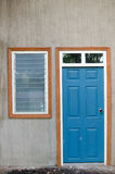 Deuren en venster Stock Afbeeldingen