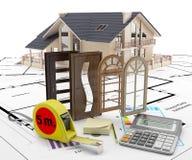 Deuren en vensters aan het huis Energieisolatie Royalty-vrije Stock Afbeeldingen