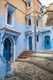 Deuren en vensters in Maroc royalty-vrije stock fotografie