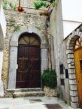 Deuren van Capri, Italië Stock Fotografie
