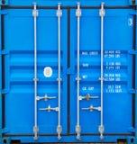 Deuren van container Stock Afbeeldingen