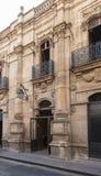 Deuren van koloniaal Morelia royalty-vrije stock foto's