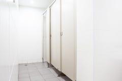 Deuren van toiletten Royalty-vrije Stock Afbeeldingen