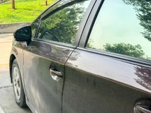 Deurhandvat van de auto Royalty-vrije Stock Afbeeldingen
