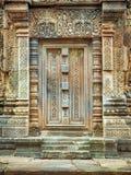 Deuropening in Angkor Wat- Kambodja Royalty-vrije Stock Foto