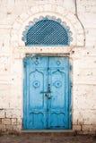 Deuropening in massawaEritrea ottoman invloed royalty-vrije stock afbeeldingen