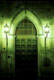 Deuropening Siena, Italië royalty-vrije stock afbeeldingen