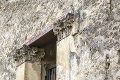 Deuropeningsboog in Pompei Royalty-vrije Stock Foto