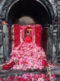 Deus com flores imagens de stock royalty free
