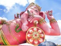Deus cor-de-rosa do ganesh em Tailândia Fotografia de Stock