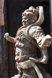 Deus da porta de China. foto de stock